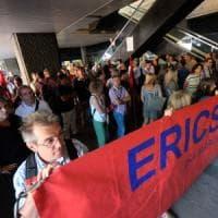 Ericsson ancora in piazza contro i licenziamenti via mail