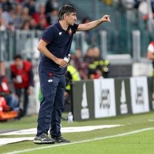 """Genoa, Juric: """"Siamo in emergenza in difesa, ma voglio vedere il nostro gioco"""""""