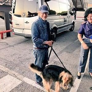 Un turista d'eccezione: Steven Spielberg atterra a Genova