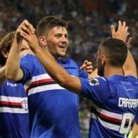 Samp, tre gol al Foggia e avanti in Coppa Italia