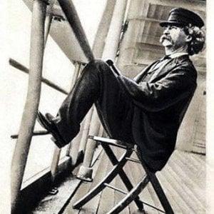 """1867: la prima crociera e il reportage di Mark Twain """"Che belle le genovesi"""""""