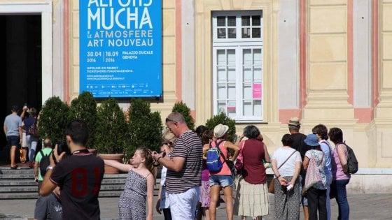 Ferragosto: successo di pubblico per palazzo Ducale