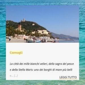 """""""Venite a Camogli"""", ma è Noli: caos sul sito turistico della Regione"""