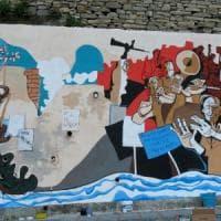 La guerra del murale, Badalucco divisa su pittori e Resistenza