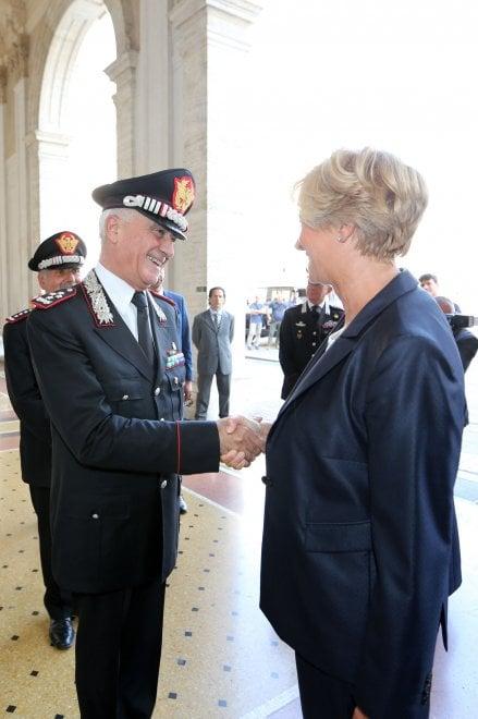 Pinotti battezza il protocollo d'intesa tra Carabinieri e Regione Liguria