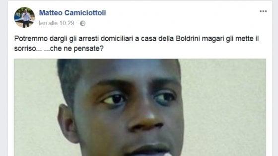 """Il sindaco di Pontinvrea: """"Il capo degli stupratori a casa della Boldrini"""". Mentana """"Sei un cretino"""""""