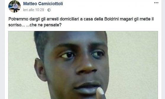 Dopo averle augurato gli stupratori in casa, il sindaco dà della bugiarda alla presidente Boldrini