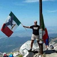 Denunciato dall'Anpi il prof della bandiera di Salò sul monte dell'eccidio
