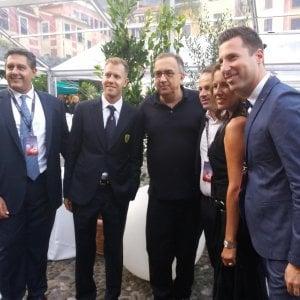 """La Ferrari debutta a Portofino, Marchionne: """"Un posto unico, magnifico"""""""