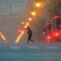Arriva la pioggia, Genova col fiato sospeso