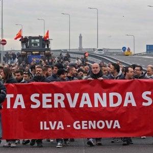 Ilva: rinnovati lavori pubblica utilità a Genova