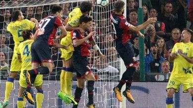 Campionato, due pareggi per Samp e Genoa  La cronaca  Genoa-Chievo  1-1  Hellas-Sampdoria  0-0