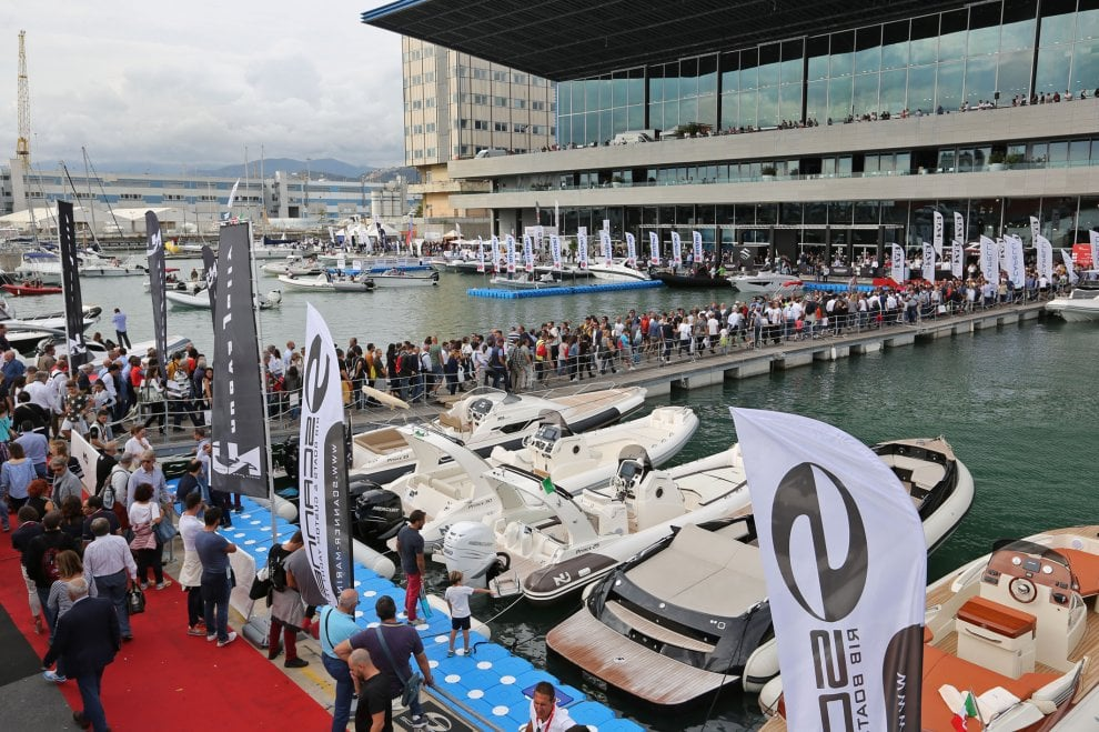 Barche, mare, folla e affari, è il Salone Nautico di Genova
