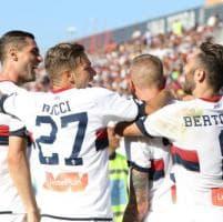 Il Genoa risorge a Cagliari trascinato da Taarabt