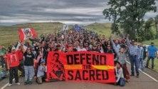 A Genova la battaglia dei Nativi Americani per difendere l'acqua