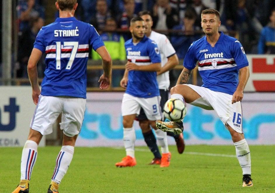 Sampdoria-Crotone, il film della partita