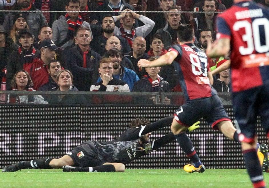 La Samp in vantaggio sul Genoa alla fine del primo tempo