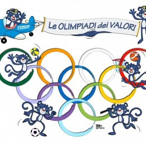 """La polizia e le scuole per le """"Olimpiadi dei valori"""""""