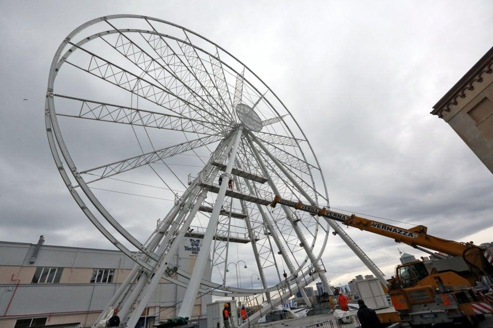 Genova, una ruota panoramica da 45 metri