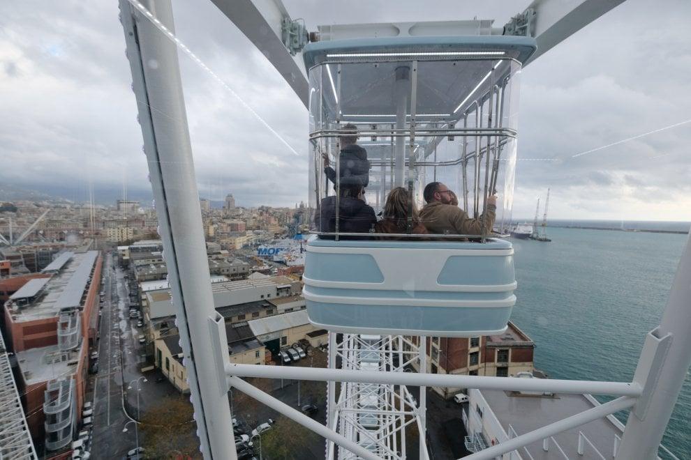 L'Expò dall'alto, inaugurata la ruota panoramica