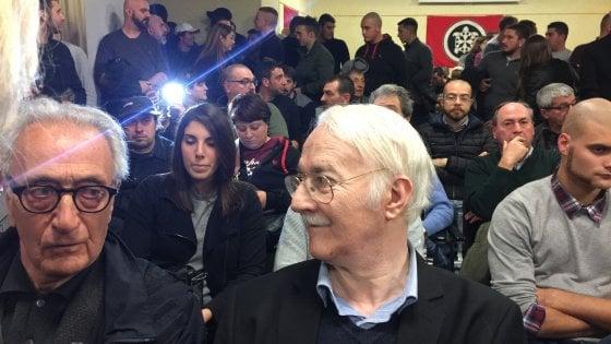 """Genova, Plinio a Casa Pound """"Ritorno alle origini e al fascismo sociale"""""""