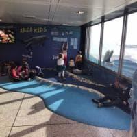 All'aeroporto di Genova due aree gioco per i bambini dedicate al mare e