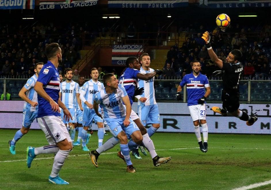 Sampdoria-Lazio, il film della partita