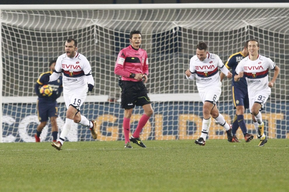 Verona-Genoa: il fotoracconto