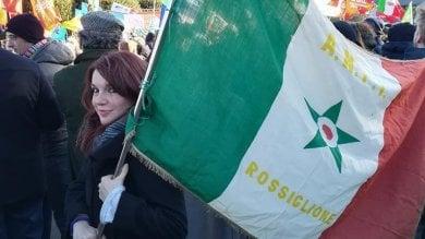 Folta delegazione genovese alla manifestazione antifascista di Como
