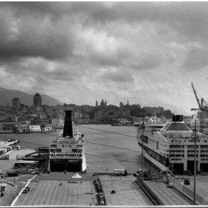 Volevo fare il marinaio, il porto visto da Dondero
