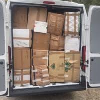La raccolta dei tassisti genovesi per i terremotati del centro Italia
