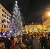 Genova, luminarie in tutti i quartieri per Natale