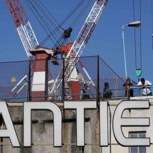 Fincantieri, a Sestri apre alle grandi navi