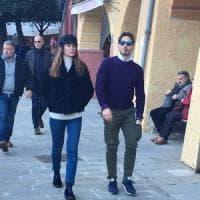 Piersilvio Berlusconi a Portofino con la nuova barca d'altura