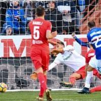 Samp, un super Quagliarella abbatte la Fiorentina