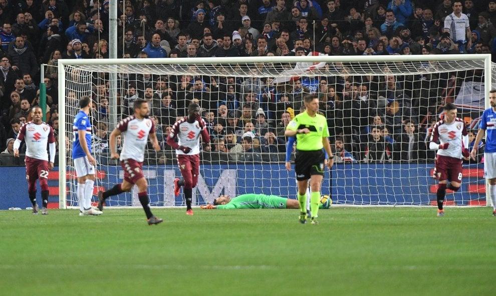 Sampdoria-Torino, si decide tutto nel primo tempo: 1-1