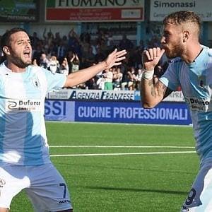 Serie B, lo Spezia rimonta, l'Entella risorge