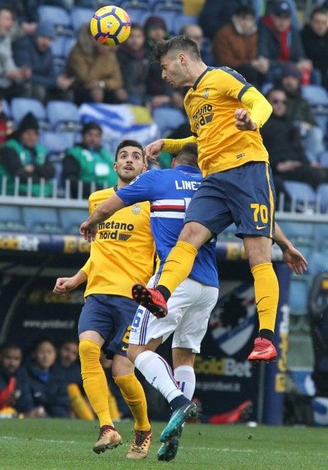 Sampdoria-Verona, il film della partita