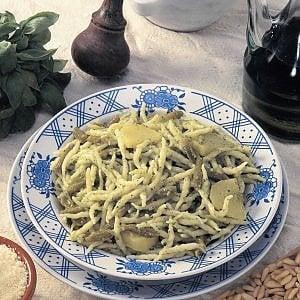 Menu tipico locale a Pasquetta  per i degenti degli ospedali liguri