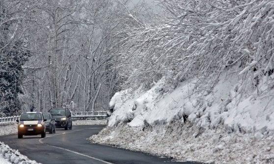 Meteo, allerta neve da stasera a domattina