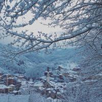 Campoligure sotto la neve