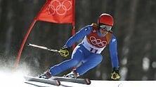 """Federica Brignone campionessa di sci con il """"problema"""" della focaccia...   Video   di VALENTINA EVELLI"""