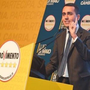 """Di Maio a Genova: """"Al governo bloccheremo il terzo valico"""""""