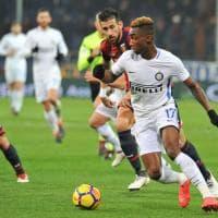L'autogol gol di Ranocchia porta il Genoa in vantaggio