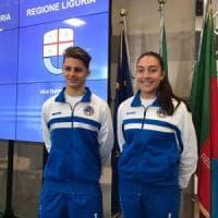 Ju Jitsu, due giovani genovesi in partenza per i mondiali ad Abu Dhabi