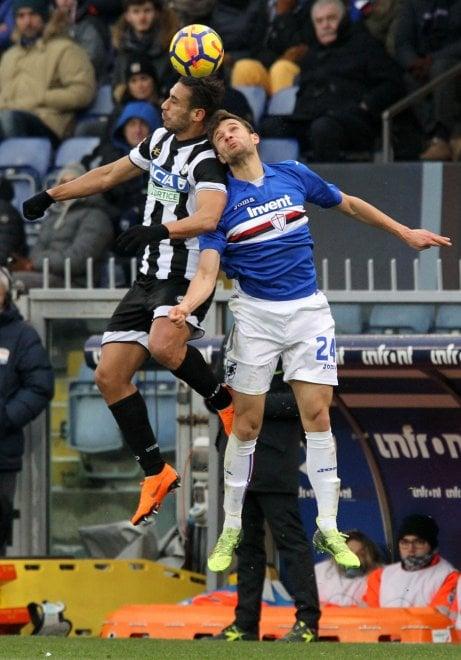 Sampdoria-Udinese, il film della partita