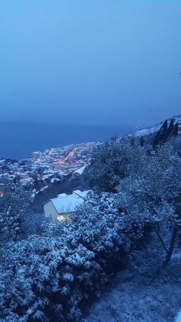 """Genova, ecco """"l'antipasto"""" della nevicata"""