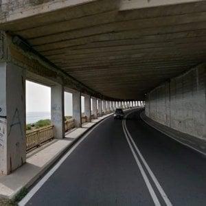 Mareggiata, chiusa l'Aurelia tra Sestri Levante e Lavagna