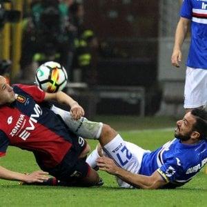 Samp-Genoa finisce 0-0 , al derby vince la noia