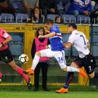 Sampdoria-Bologna, il fotoracconto della partita